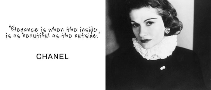 Influential women - female role models - Coco Chanel