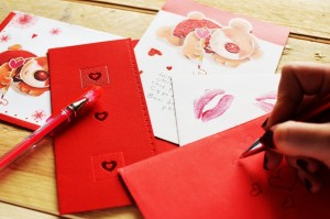 Show Yourself Some Love - Letters Kisses