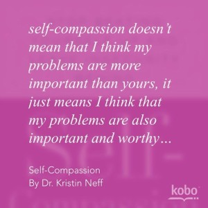 Self-Compassion when you're having a bad day.