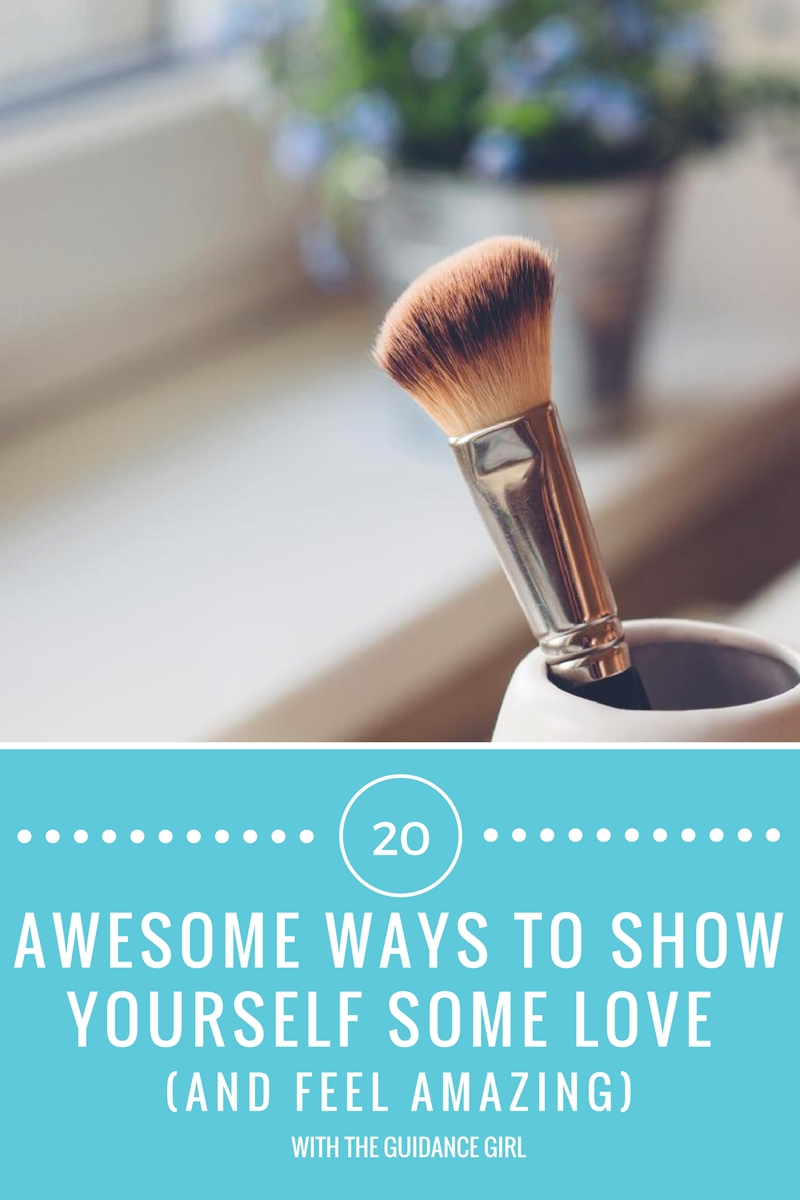 It can be hard to show yourself love and respect. Here are 20 ways to show yourself some love, feel happier and more confident ASAP.