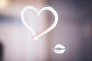 Show Yourself Some Love - Heart - Kiss - Mirror