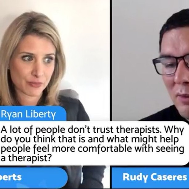 Turn your sound on  #FBF to our awesome Facebook live last week @rudycaseres & I️ answered some great questions on #therapy #mentalhealth & dealing with difficult doctors. Check out this clip and the full #video is in my bio. #realtalk bc #MentalHealthMatters  Rudy & I️ both #vlog for @healthyplace too #speakup #expressyourself #videooftheday #instavideo #videos @ryanlibertyofficial you rock ️ #live #instagood #fridayfeeling #inspire