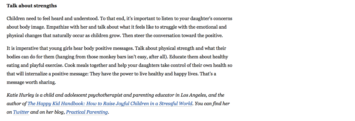 The Guidance Girl Washington Post