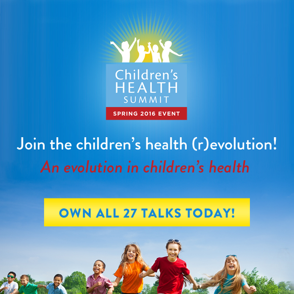 Join me and 27 amazing experts online May 2nd to 9th for the Third Biannual Children & Teen's Health Summit, brought to you by the Lotus Health Project.